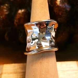 RLM Bronze by Robert Lee Morris for QVC Ring 5.5